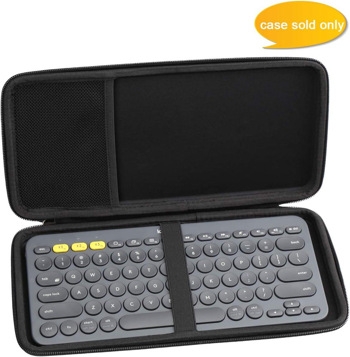 Aproca Hard Travel Storage Case for Logitech K380 / K810 / K811 Multi-Device Bluetooth Keyboard