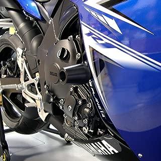 701-0609 Black MADE IN THE USA Sliders Shogun Yamaha 2015-2019 YZF-R3 R3 2006-2009 YZF-R6S 1999-2016 YZF-R6 R6 2006-2015 FZ1 1998-2014 YZF-R1 Most Aprilias Swingarm Spools