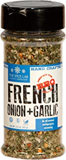 The Spice Lab French Onion Garlic Blend - Bread Dipping Garlic Spices and Seasonings Mix - Spice Shaker Jar - Makes a Great Sour Cream or Gluten Free All Natural French Onion Dip Mix No. 7603