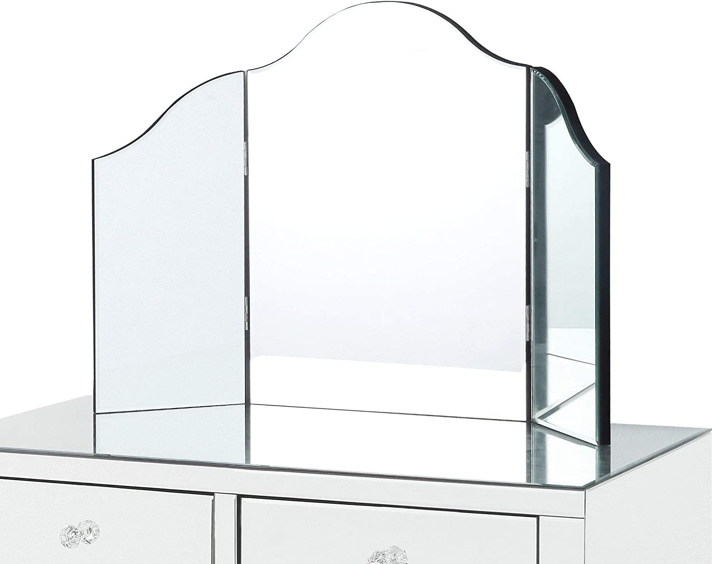 Inspired In stock Home Tri-fold Mirror Vanity Selling Tabletop