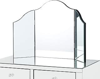 tri fold mirror for vanity