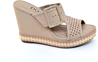 Dots Wedge Sandals For Women, Fashion & Comfy Shoes From Brazil