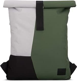 Backpack Roll Top Green/Gray JOHNNY URBANOskar Multicolor Gym Sports Bag Women & Men