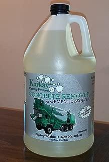 Korkay Concrete Remove and Cement Dissolver - 1 gallon