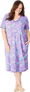 Dreams & Co. Women's Plus Size Short T-Shirt Lounger