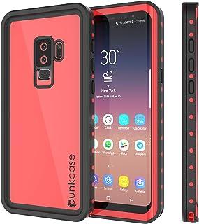 PunkCase Galaxy S9 Plus Waterproof Case, [Studstar Series] [Slim Fit] [Ip68 Certified] [Shockproof] [Dirtproof] [Snowproof...