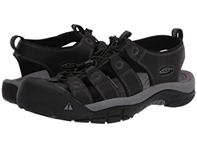 KEEN Newport (Black/Steel Grey) Men