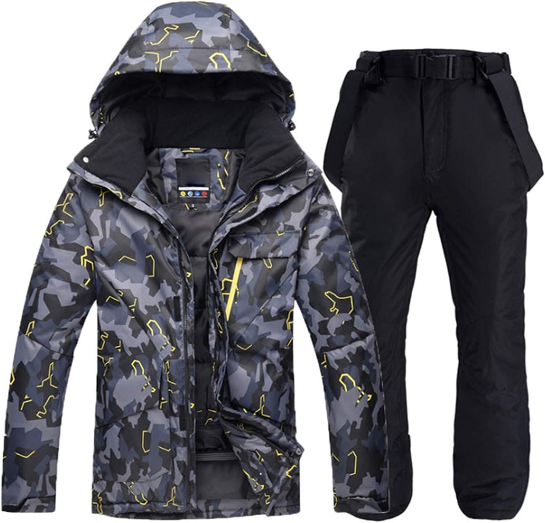 PENER outlet Men's Thick shop Windproof Waterproof and Snowboard Ski Jacket