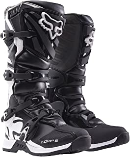2018 Fox Racing Youth Comp 5 Boots-Black-Y8