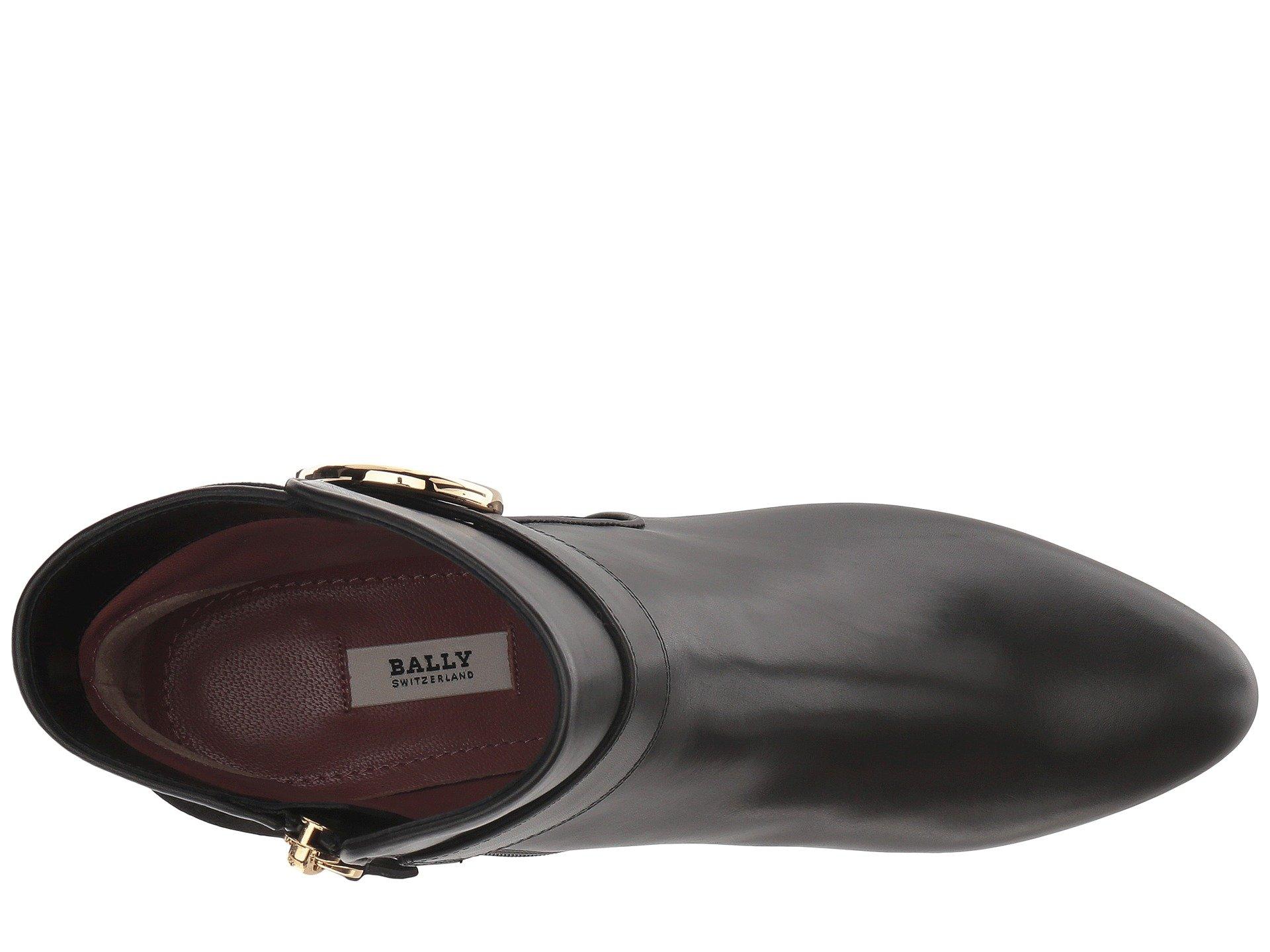 Black Boot Bally Izma Izma Bally qwxvIxf1