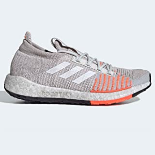Official Brand Adidas Pulseboost HD Womens Running Shoes Trainers Grey/Coral Athleisure