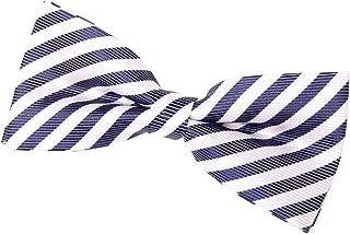 Retreez Striped Woven Pre-tied Bow Tie (4.5