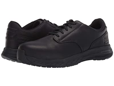 Timberland PRO Drivetrain Oxford Composite Safety Toe EH (Black Leather) Men