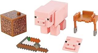 Minecraft Comic Maker Pig Action Figure, Multicolor