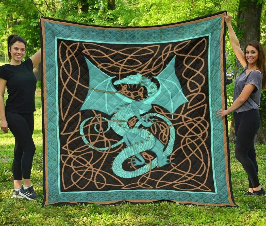 Personalized Dragon Fresno Mall Quilt - Rope San Francisco Mall Se Motif and