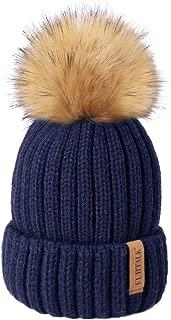 blue bobble hat baby