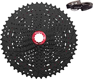 JGbike Sunrace 12 Speed MTB Cassette 11-50T Wide Ratio Including 22mm Extender - MZ90 for SRAM NX GX System