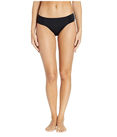 Seafolly Ruched Side Retro Bottoms (Black) Women