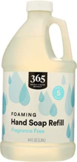 365 by Whole Foods Market, Foaming Hand Soap Refill, Fragrance Free, 64 Fl Oz
