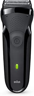 Braun 300s Series 3 Rechargeable Electric Shaver For Men, Black