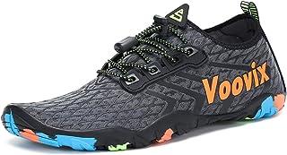 Calcetines de Agua Transpirable Aqua Unisex Zapatos de Agua Descalza de Secado Rápido Zapatillas Livianas para Nadar Yoga Surf Beach Shoes Hombres Mujeres