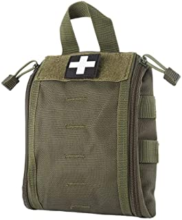WYNEX First Aid EMT Bags, Tactical IFAK Medical Molle Pouch Military Utility Med Emergency EDC Pouches Outdoor Survival Ki...