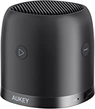 AUKEY Cassa Bluetooth 5.0 Portatile Bassi Potenti, Mini Altoparlante Bluetooth con Custodia in Metallo, Speaker Senza Fili per iPhone, iPad, Samsung, Huawei e Altri