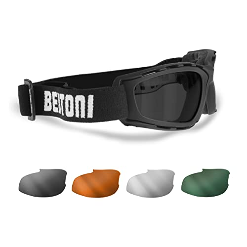 Motorcycle Goggles: Amazon.co.uk