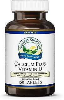 Nature's Sunshine Calcium Plus Vitamin D, 150 Tablets, Kosher | Powerful Vitamin Supplement for Adults Containing Vitamin D3, Calcium, and Magnesium