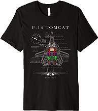 F-14 Tomcat Specs Shirt TShirt  Premium T-Shirt
