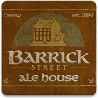 CoasterStone Absorbent Coaster Drinks , 4.25 Inches Wide, Set of Four