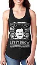 Haase Unlimited Let It Snow - Famous Drug Lord Ugly Christmas Ladies Tank Top