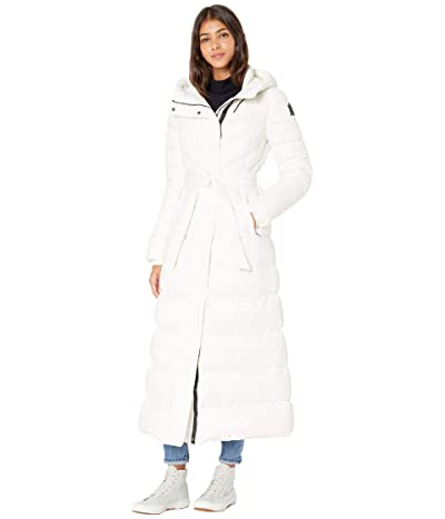 MACKAGE Calina-R Hooded Medium Down Coat (Off-White) Women