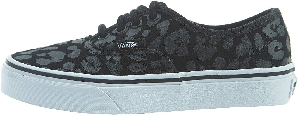 Vans Authentic (Leopard Suede) Black