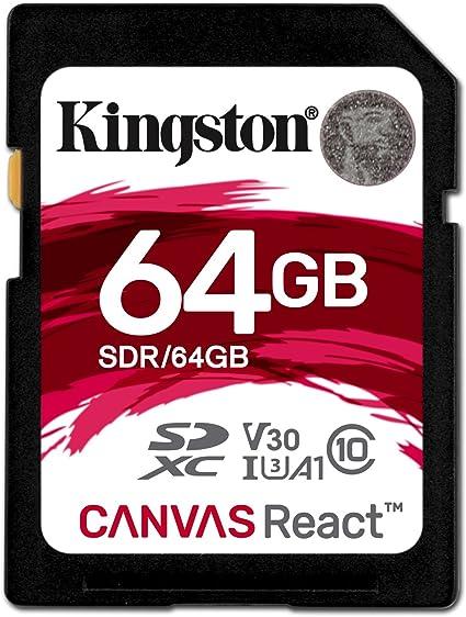 Kingston Canvas React Sdr 32gb Klasse 10 Sd Karte Computer Zubehör