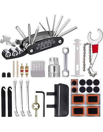 44/pz Kit di riparazione per bicicletta multi set Witn box per la maggior parte dei tipi di bici Greensen biciclette strumenti di riparazione