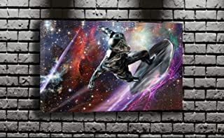 Merlin Wall Art Marvels Silver Surfer Canvas Mwa_11109 (44x26)