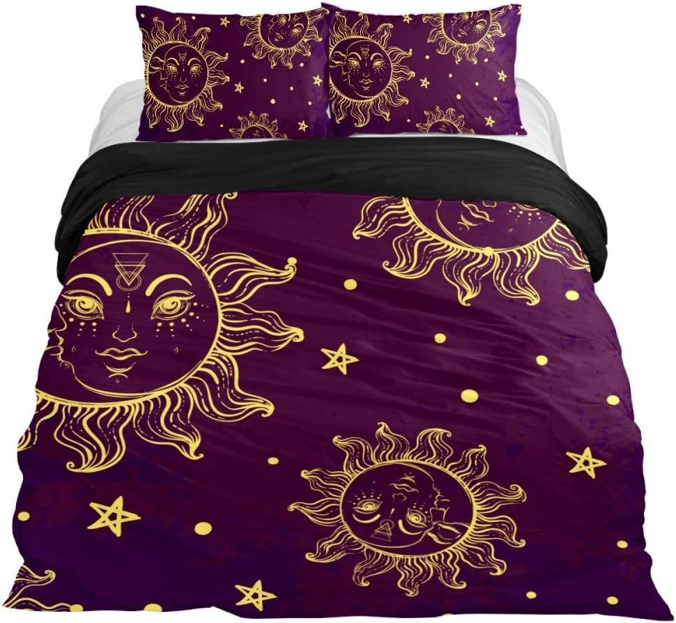 Anna Cowper Opening large release sale Alchemy Magic Sun and Astrology 3 Bedding Piece safety Moon
