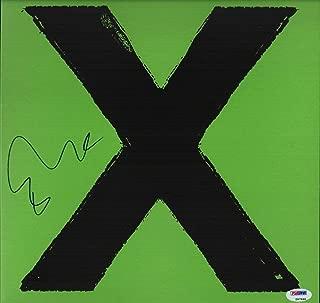 signed ed sheeran memorabilia