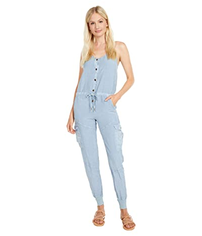 Young Fabulous & Broke Kaia Jumpsuit (Blue Stone) Women