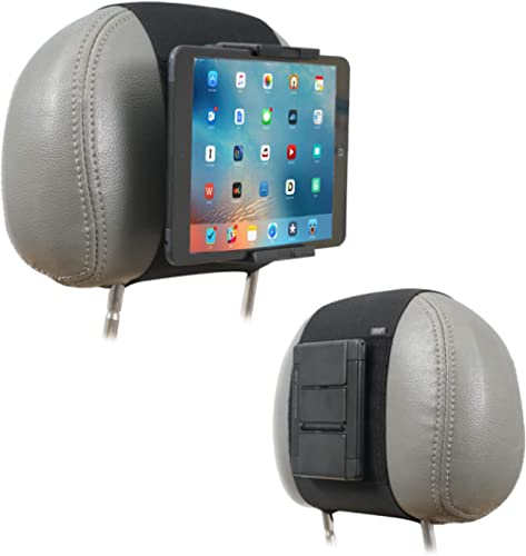 Car Mount Holder, TFY Car Headrest Mount Holder for Phones and Tablets, Compatible with 5 to 10.5 Inch Screens Devices