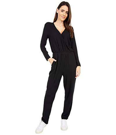 Lucky Brand Brushed Hacci Hev (Lucky Black) Women