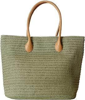 Amazon.es: bolsos de paja - Bolsos totes / Bolsos para mujer ...