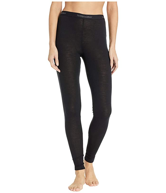 Icebreaker 175 Everyday Merino Base Layer Leggings (Black) Women