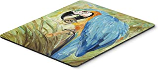 Caroline's Treasures Blue Parrots Mouse Pad/Hot Pad/Trivet (JMK1147MP)