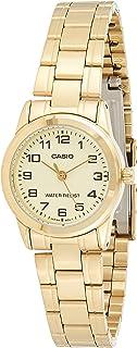 ساعة كاسيو للنساء LTP-V001G-9B – رسمية، أنالوج