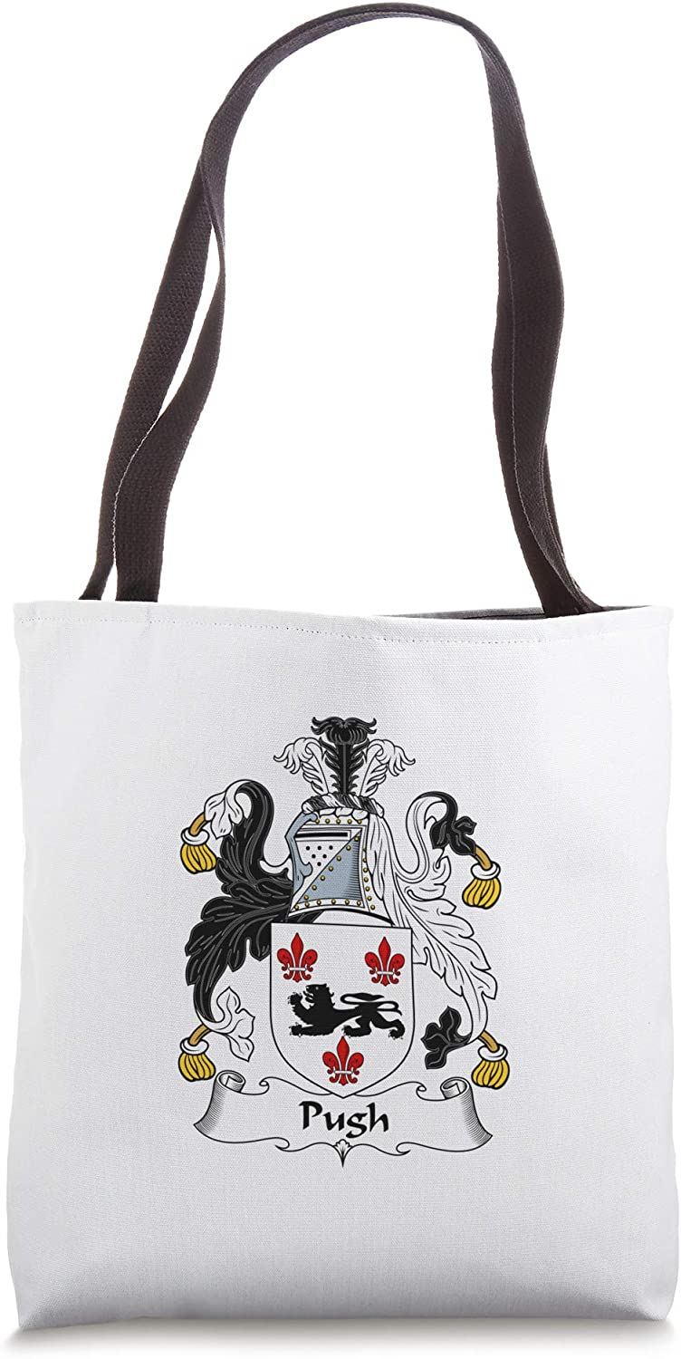 Pugh Coat of Arms - Family Crest Tote Bag