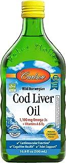 Carlson Cod Liver Oil Flavor, 500g, Lemon