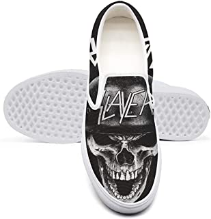 Slayer-Screaming-Wehrmacht- Classic Women's Canvas Slip-On Shoes Sneaker