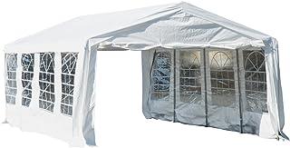 Carpa Blanca de 8x4 m para Celebraciones y Eventos - Acero y PE